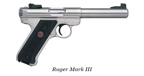 Ruger Mark I, II, III or IV